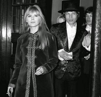 Marianne Faithfull & Mick Jagger (35)