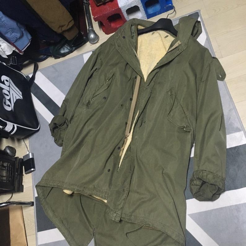모드를 상징하는 M-51 피쉬테일 자켓