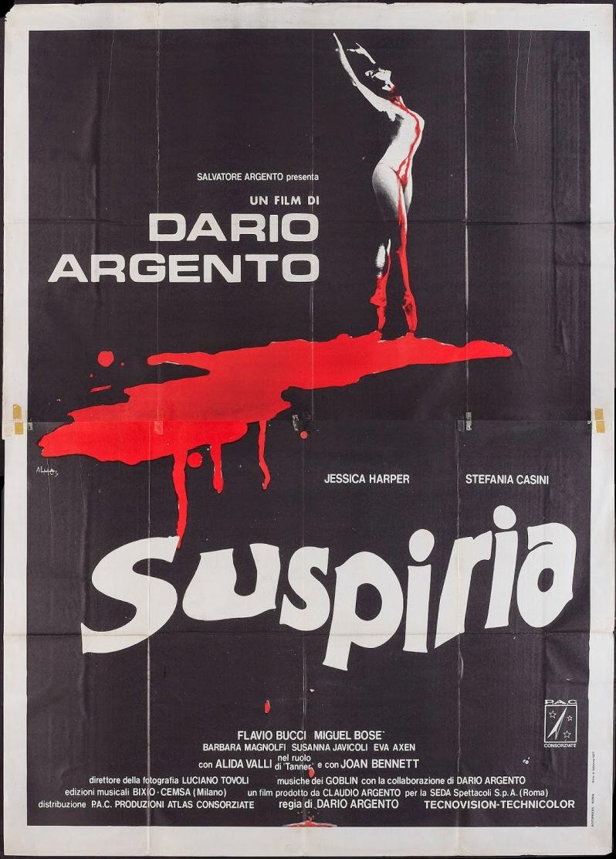 SUSPIRIA - Italian Poster by Antonio Mos 1
